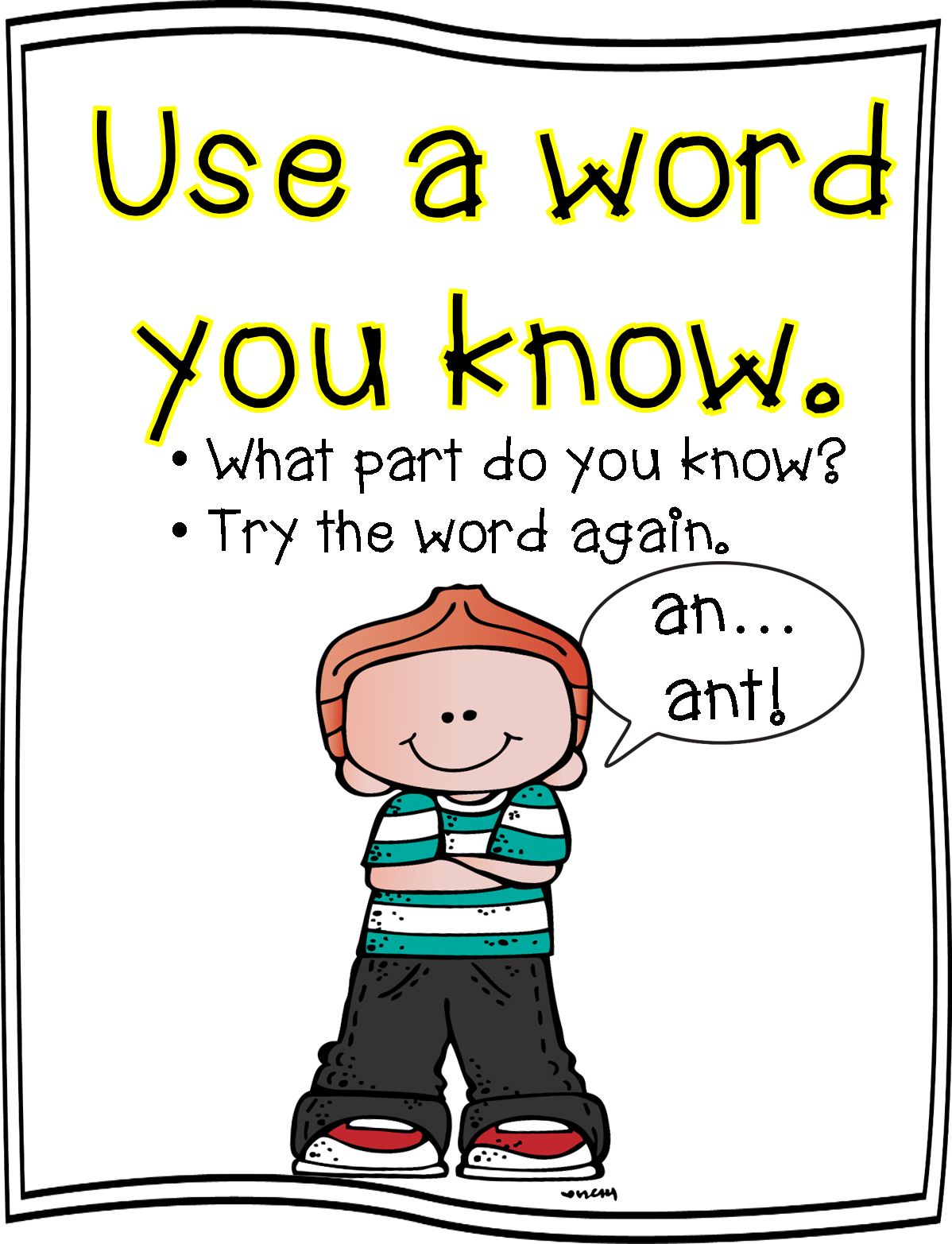 Word strategy posters first. Grades clipart concise