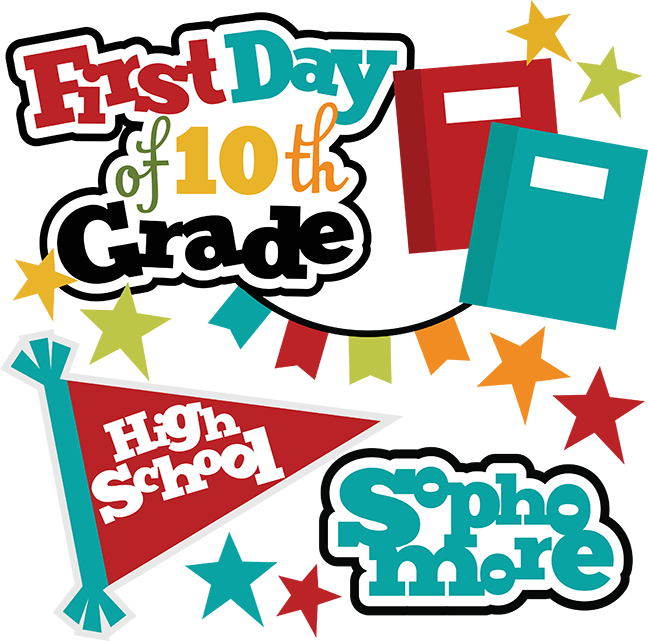 Grades clipart eighth grade. First day of th