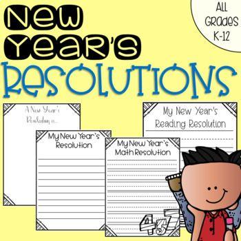 Grades clipart grade 12. New year s resolutions