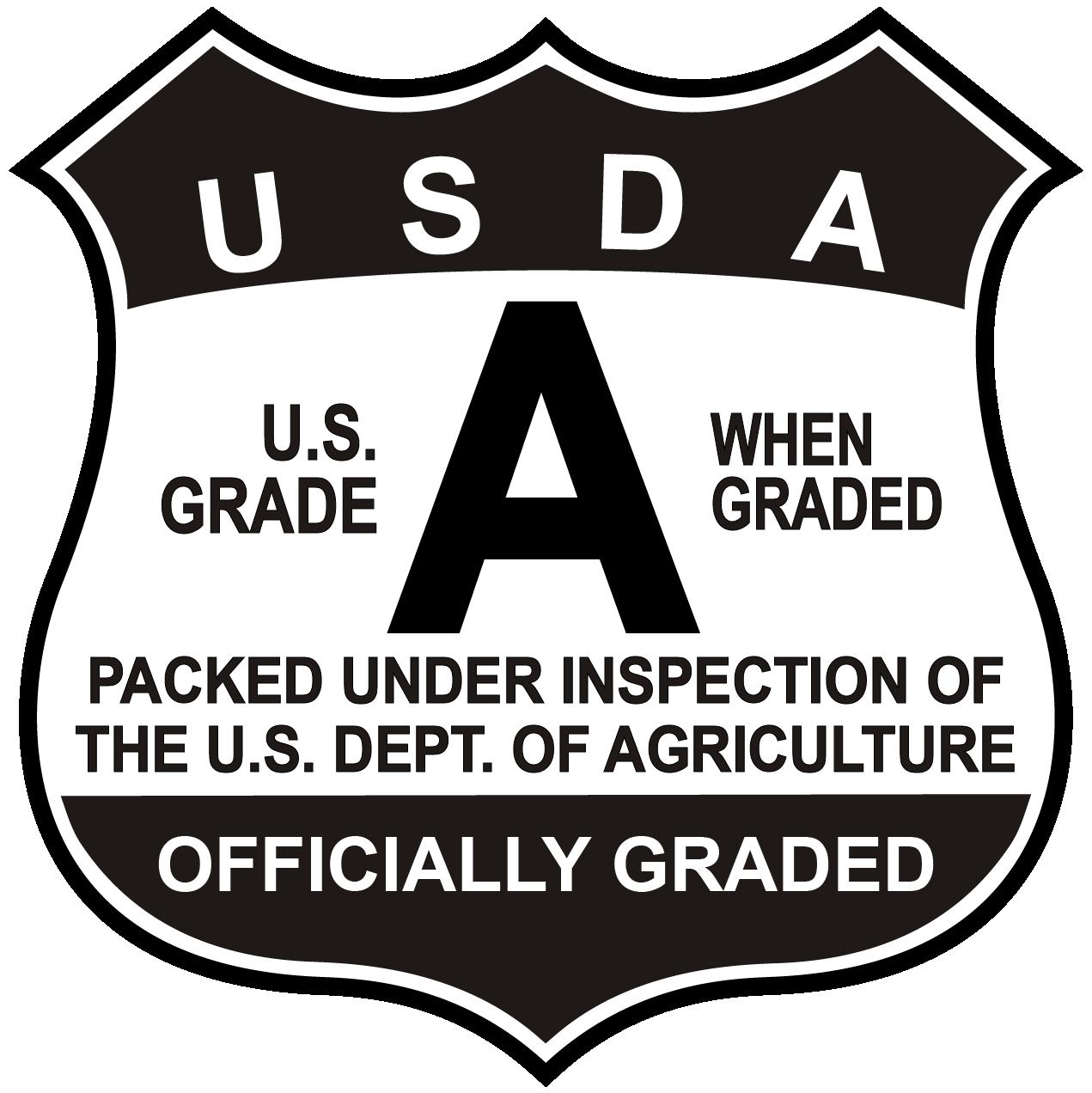 Dairy official quality shields. Grades clipart grade 12
