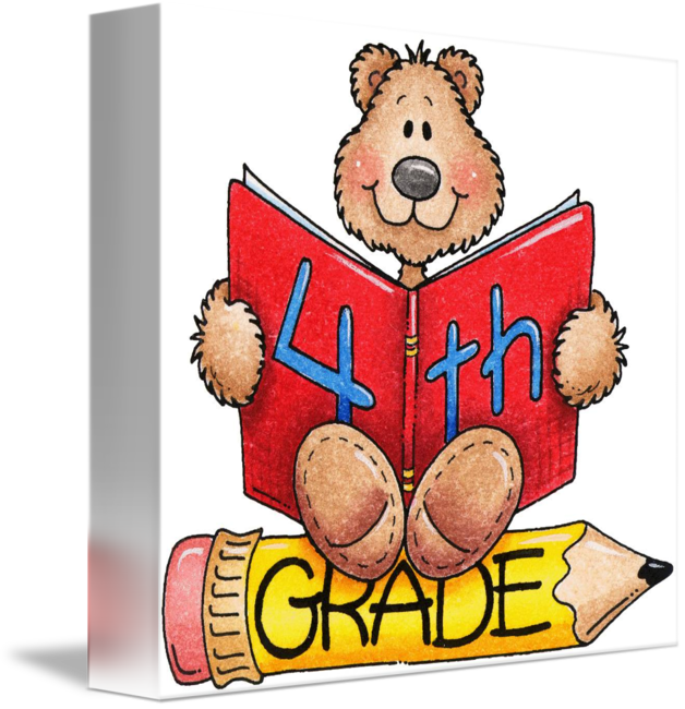 Grades clipart graded paper. Fourth grade teddy bear