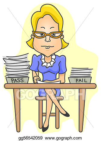 Grades clipart graded paper. Clip art teacher grading