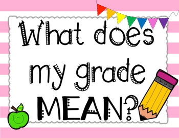 Scale posters . Grades clipart grading policy
