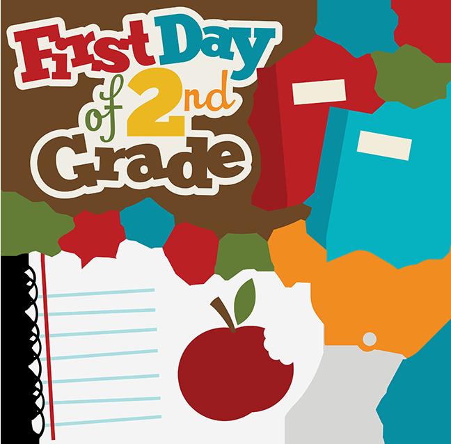 Scrapbook clipart school.  nd grade clip