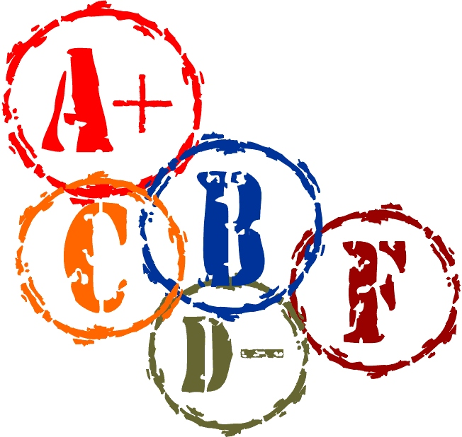 How weird is your. Grades clipart grading scale