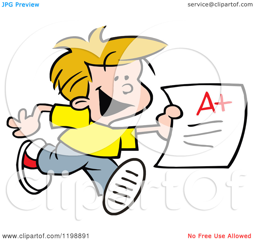 Free school report card. Grades clipart plus