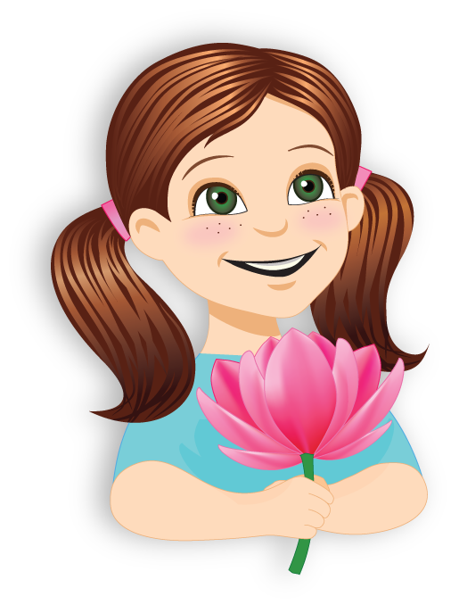 So glad be me. Shy clipart gurl
