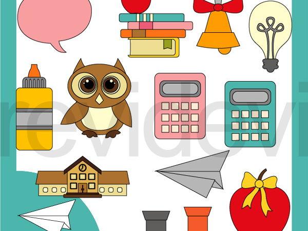 Fun education clip art. Grades clipart school project