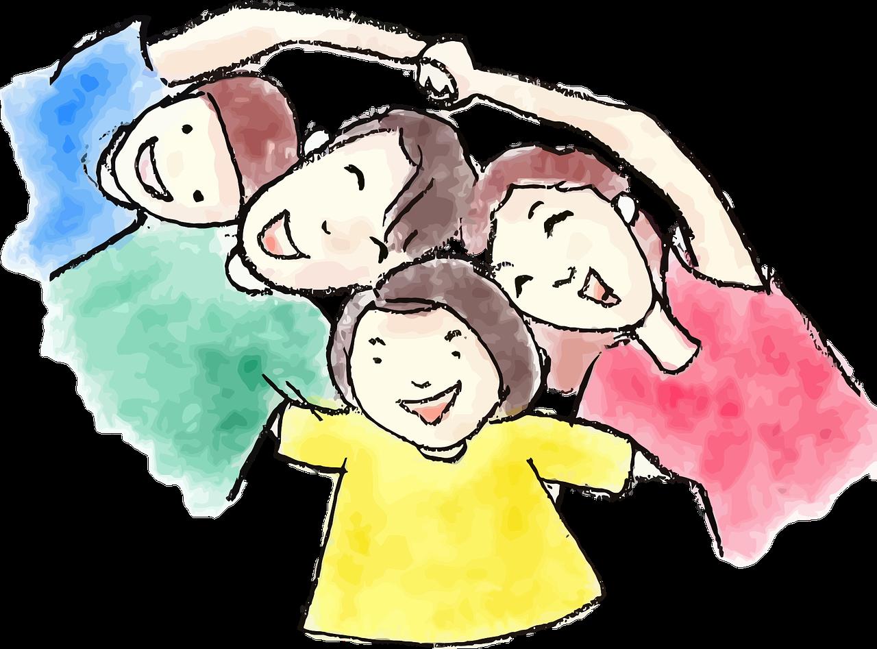 Smart kids educare introduction. Proud clipart successful child