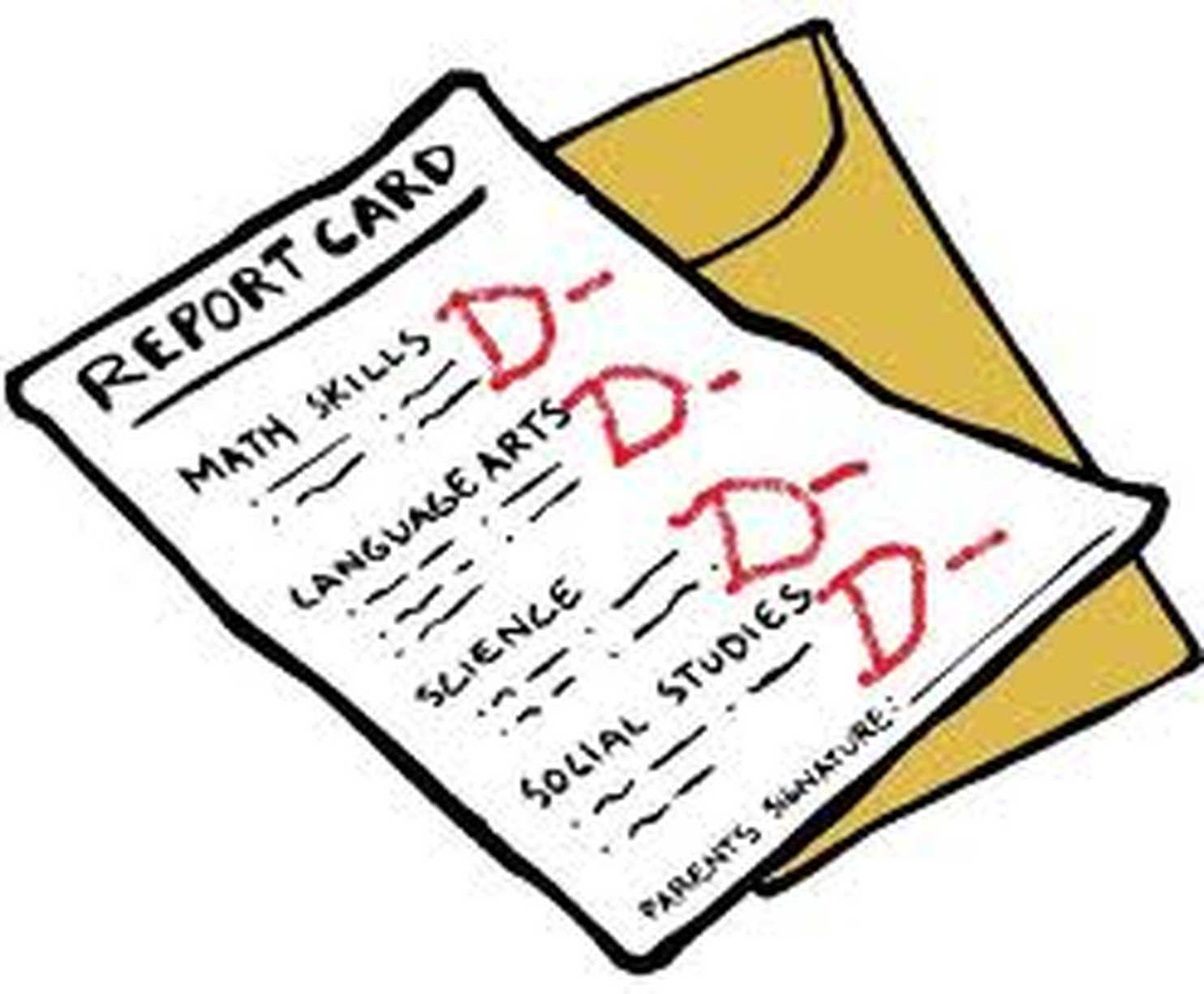 How students are being. Grades clipart test score