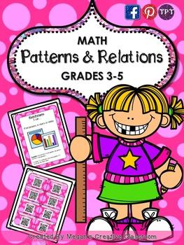 Grades clipart unit test. Math patterns lessons centers