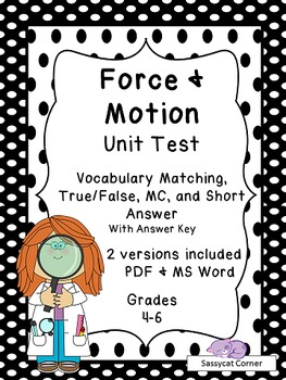 Force and motion free. Grades clipart unit test