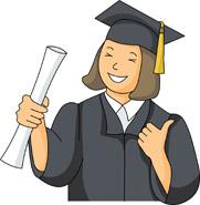 Graduation clip art free. Graduate clipart