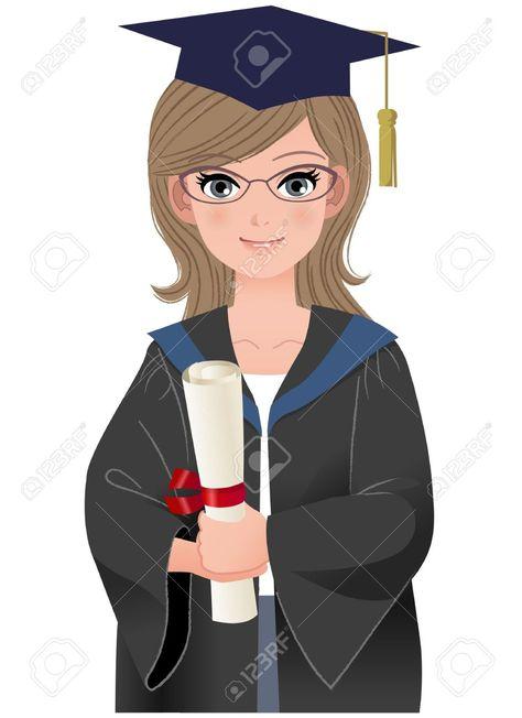 Graduate clipart collage. Pinterest