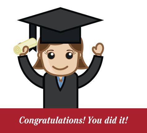 You did it girl. Graduate clipart congratulation graduates 2014