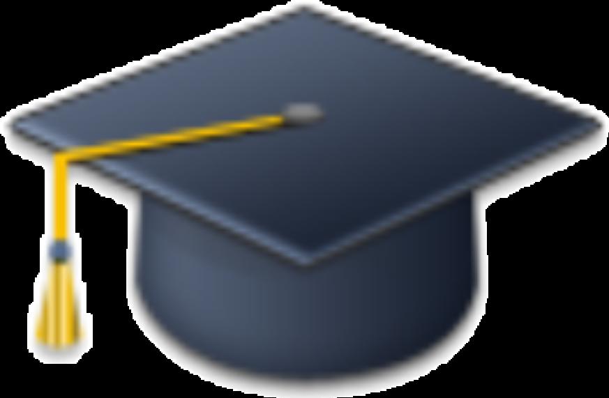 Toga cap graduate by. Graduation clipart sticker