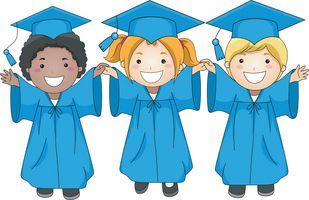 Graduate clipart kinder. Free kindergarten promotion cliparts