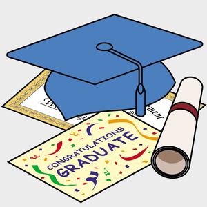 Graduate clipart kinder. Pre kindergarten graduation free