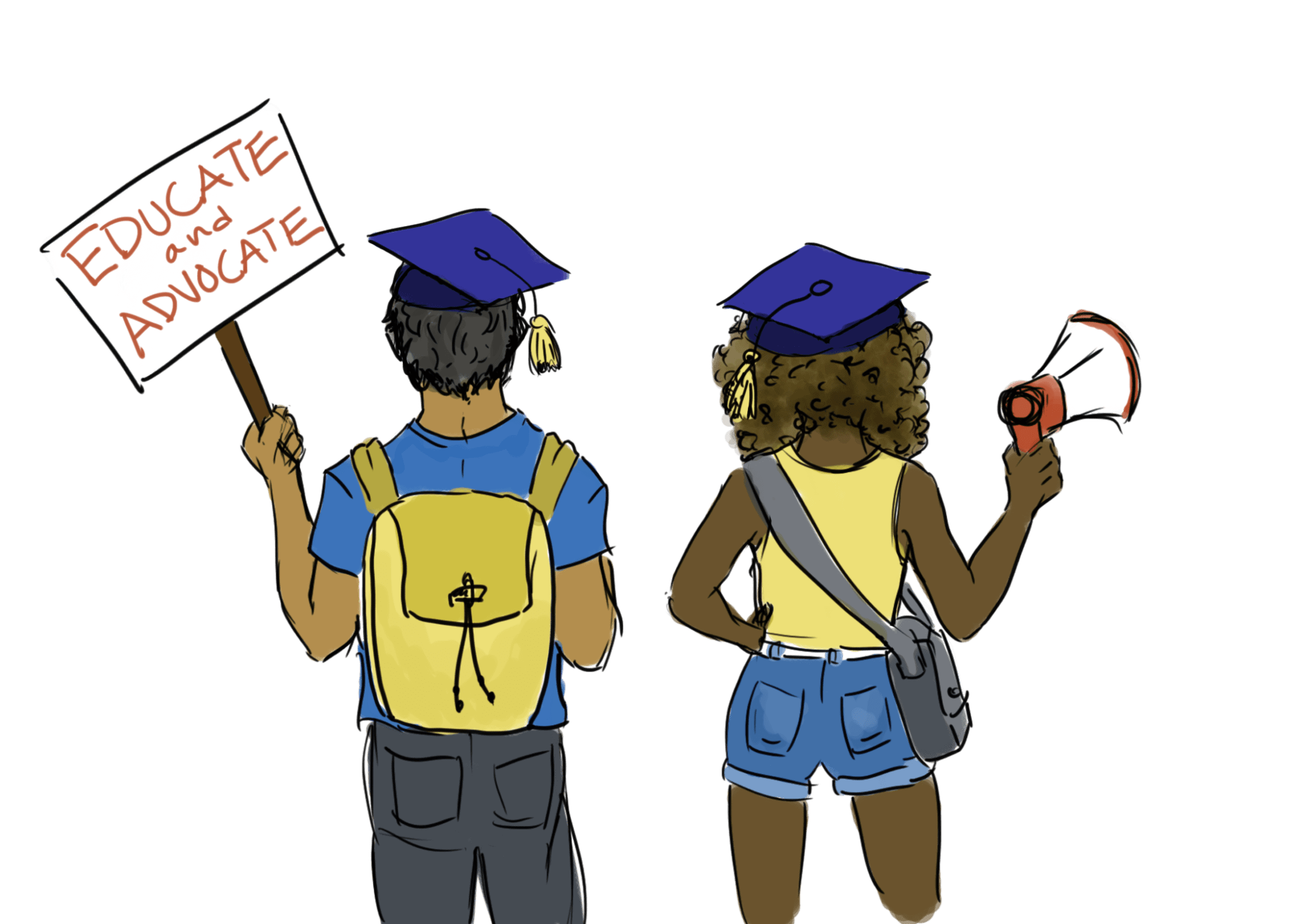 From the editor continuing. Graduate clipart school farewell