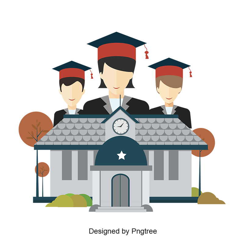 Graduate clipart school farewell.  material design for