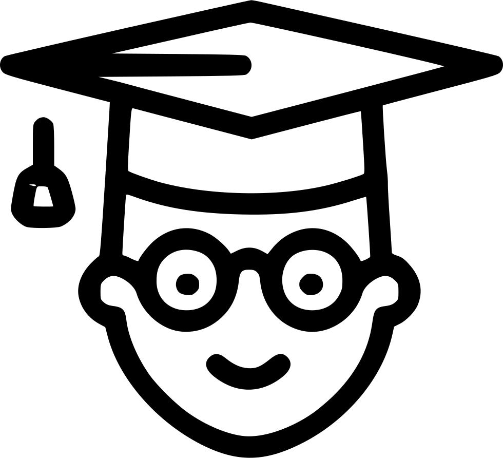 Graduate clipart university student. Degree science school svg