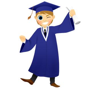 Free graduate cliparts download. Student clipart graduation