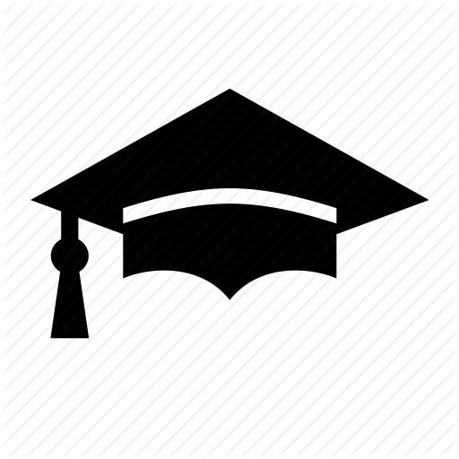 School and education by. Graduation cap vector png