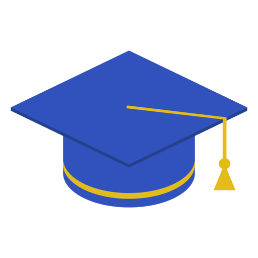 Graduation cap vector png. Blue transparent svg