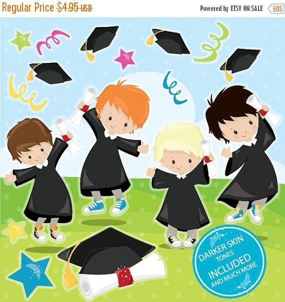 Graduation clipart.  off sale commercial