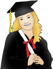 Graduation clipart. Free graphics image