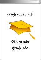 Graduation clipart 8th grade graduation.  th clip art