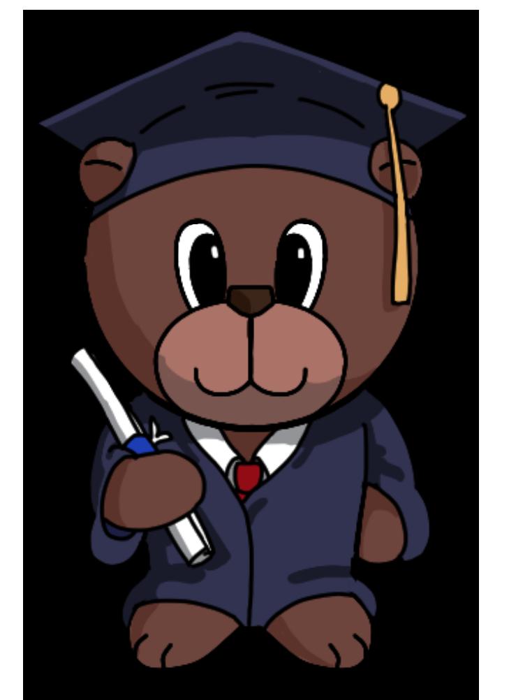 Graduation clipart bear. Convey your emotions through