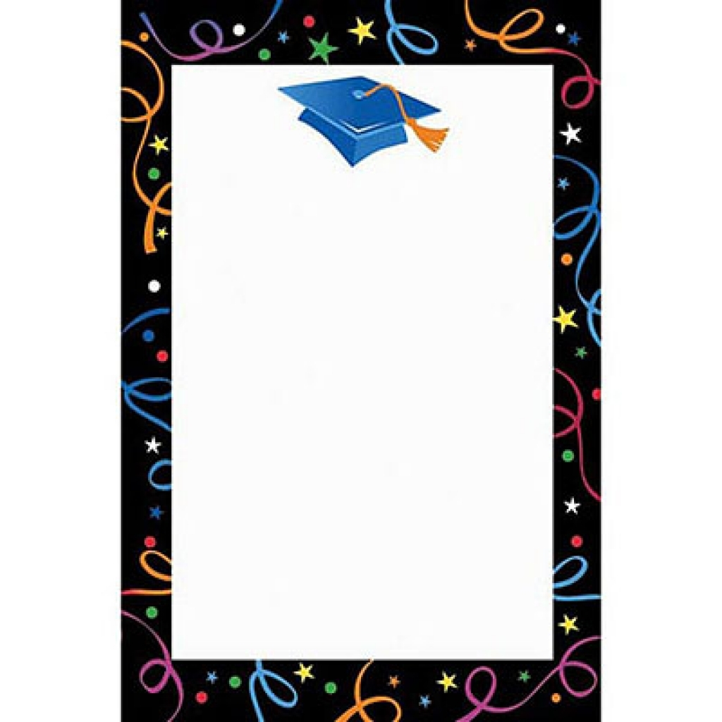 Free clip art for. Graduation clipart borders
