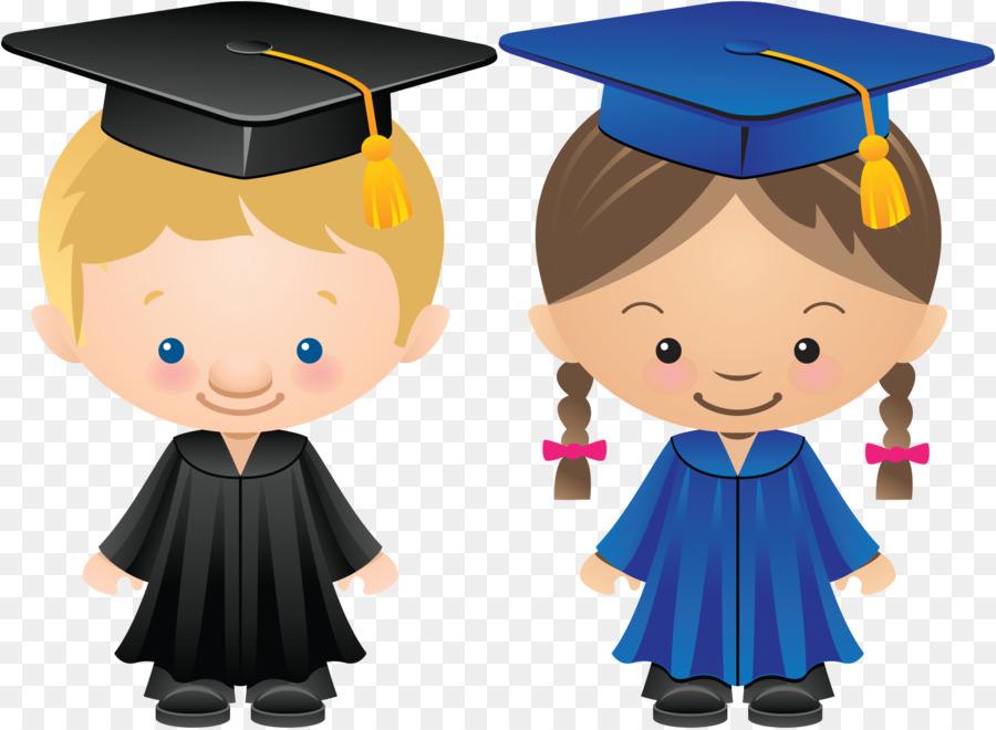 Cartoon child transparent . Graduation clipart boy