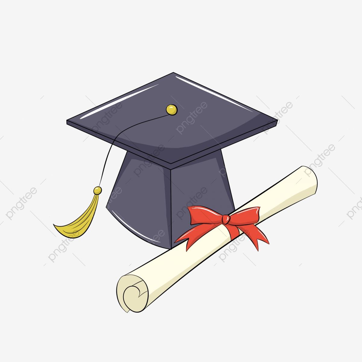 Graduation clipart doctor. Cap doctors hat cartoon