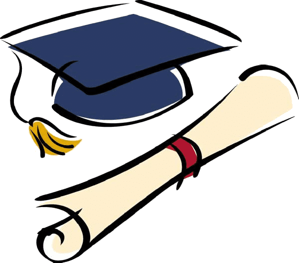 Graduation clipart graduation cap. Fw invenio it dale