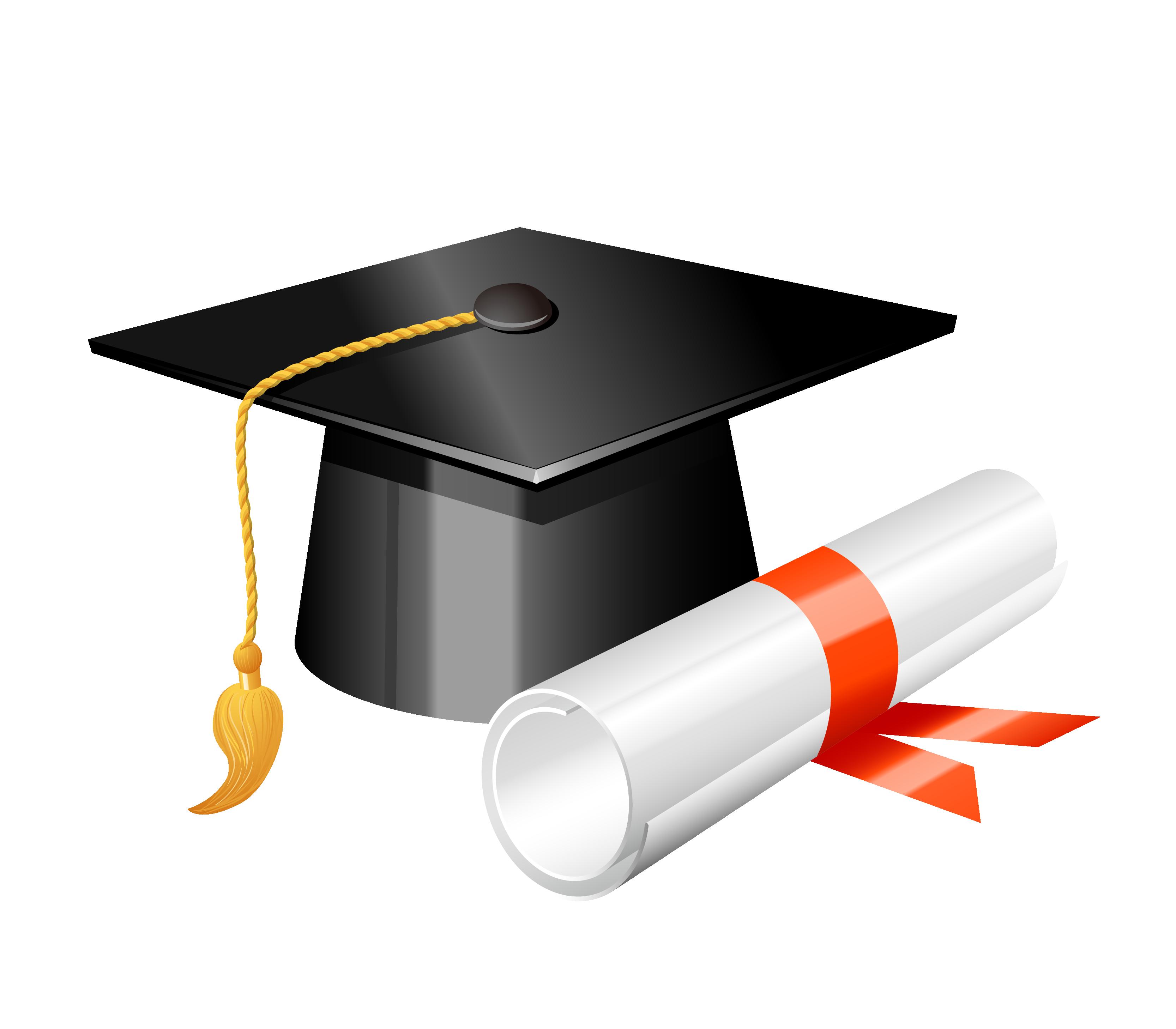 Square academic cap clip. Graduation clipart graduation ceremony
