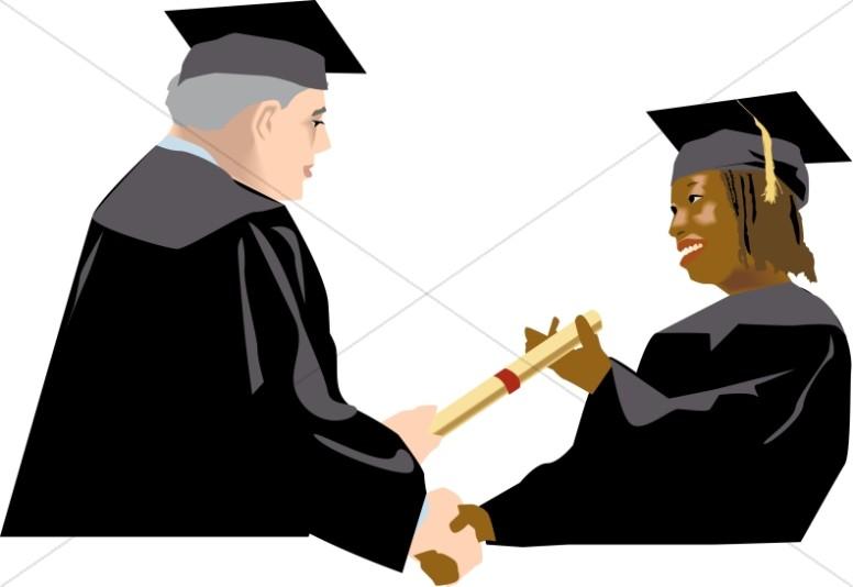 Christian and images . Graduation clipart graduation ceremony