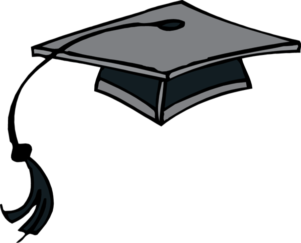 cap clipartlook. Graduation clipart graduation hat