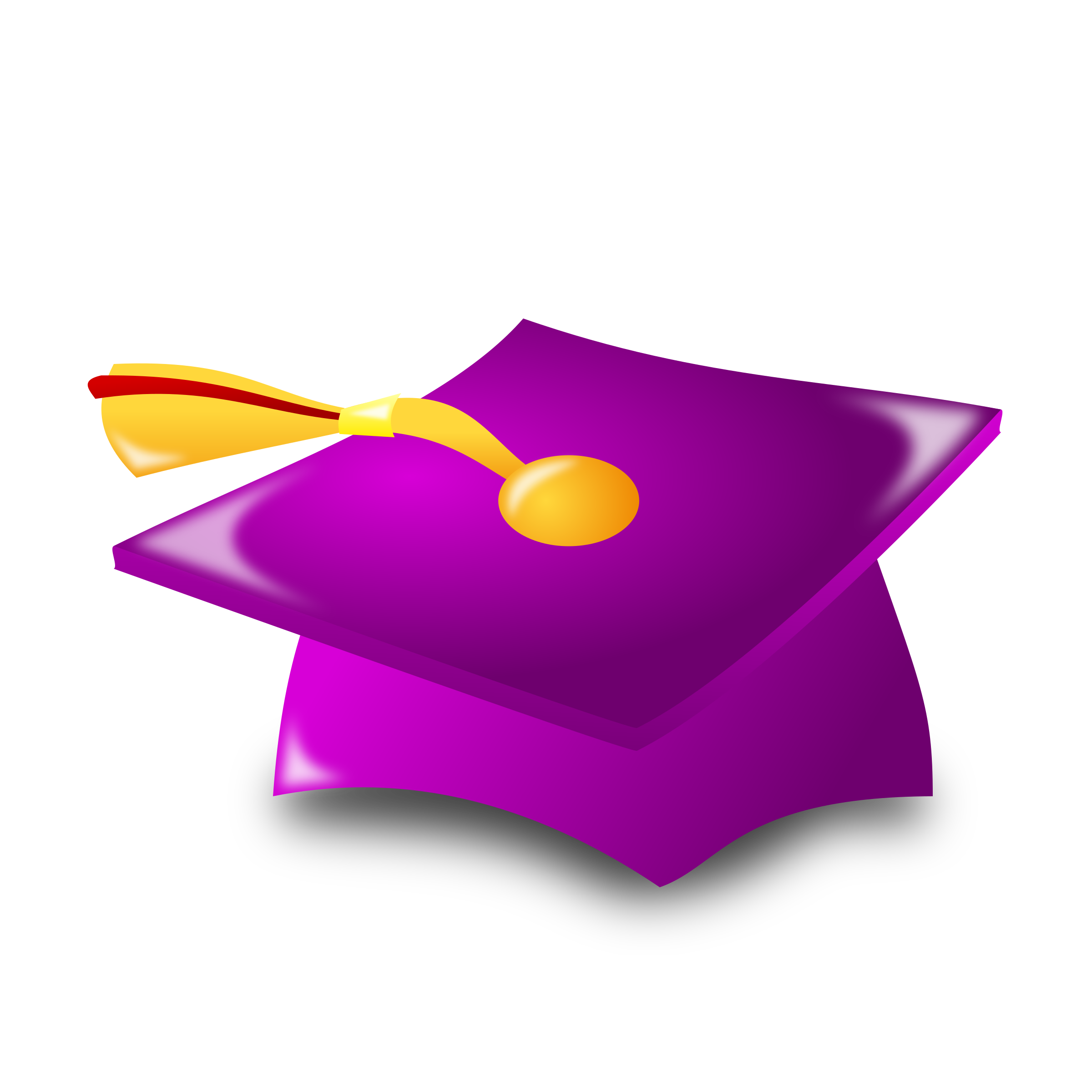 Icon big image png. Purple clipart graduation