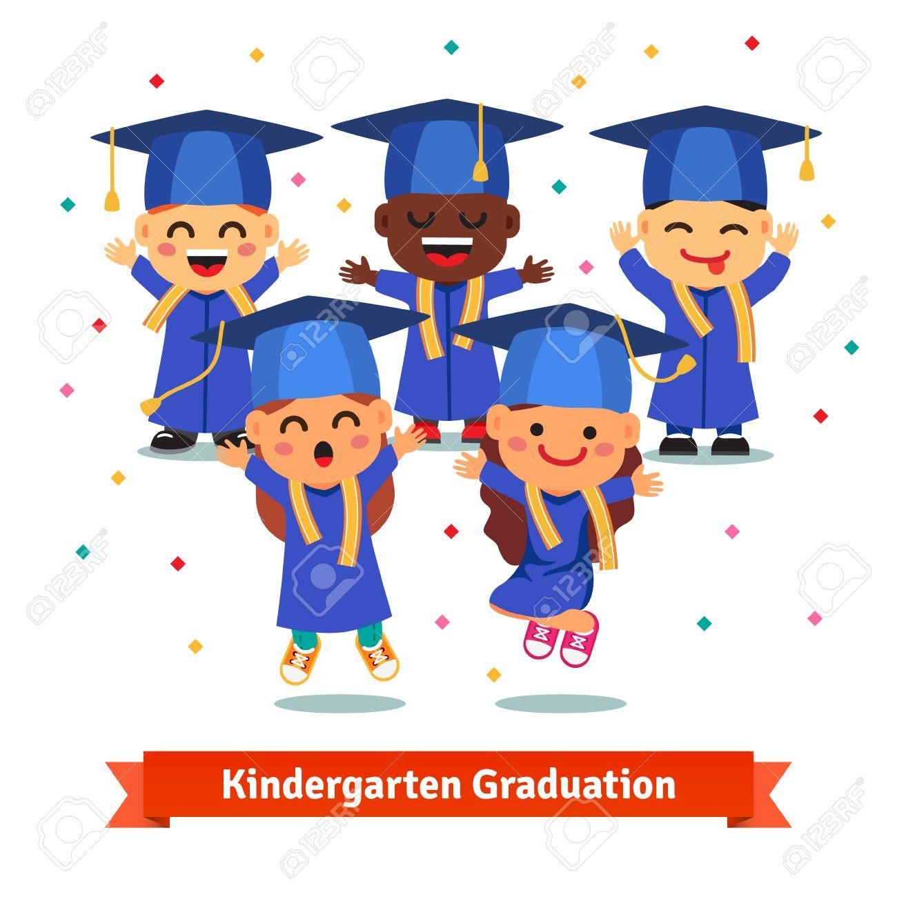 Graduation clipart kindergarden. Kindergarten party station