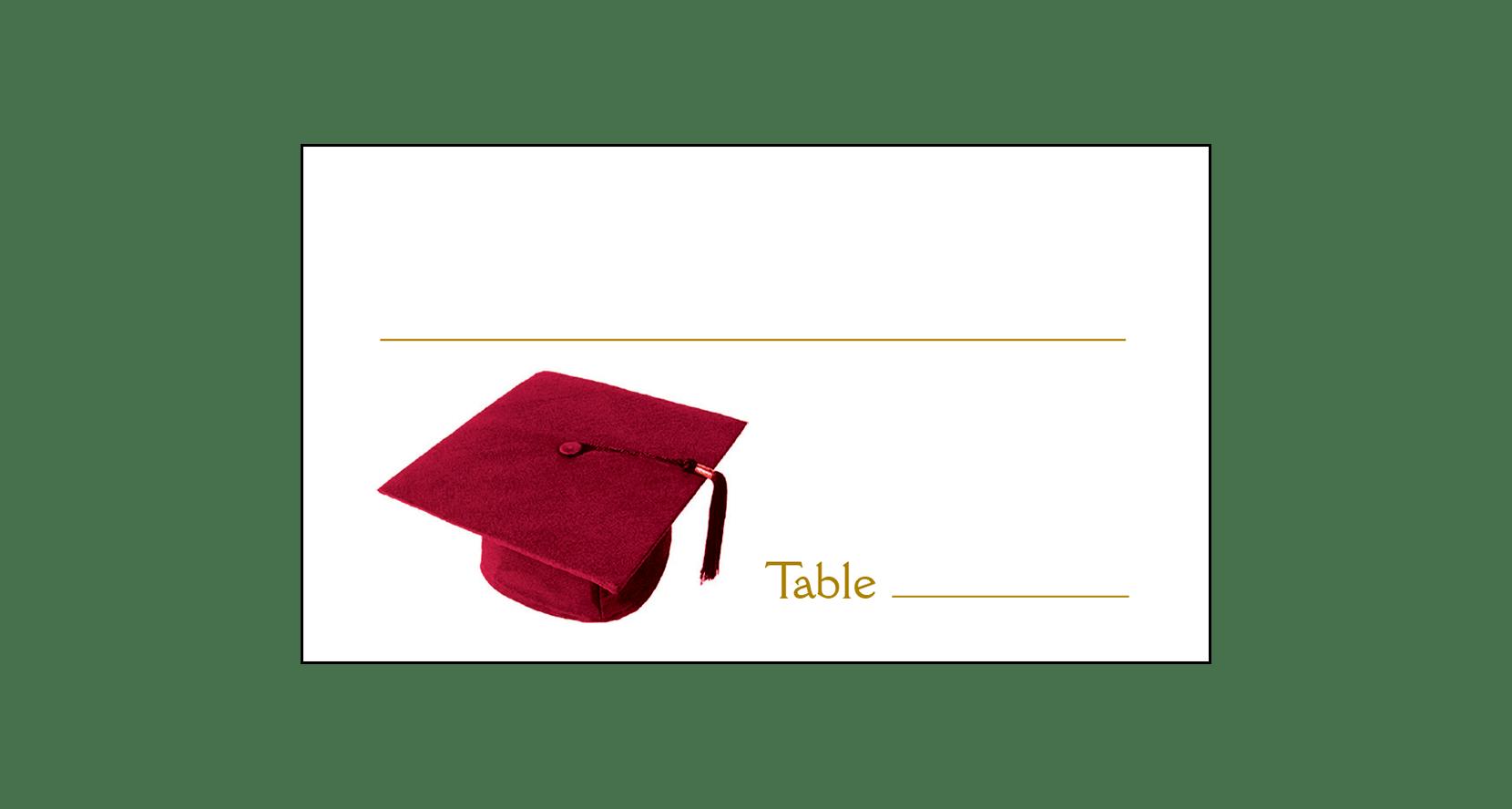 Graduation clipart maroon. Party invitation grad page