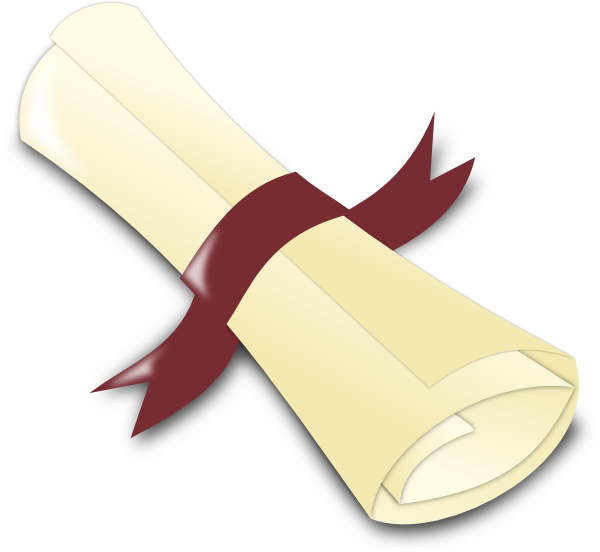 Diploma clip art at. Graduation clipart maroon