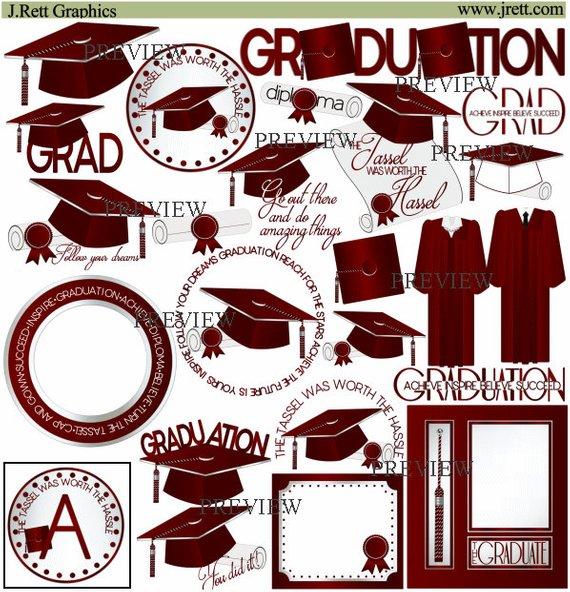 More colors class of. Graduation clipart maroon