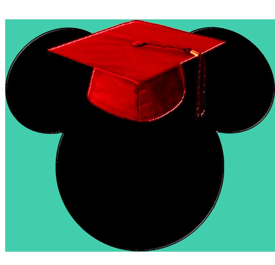 Graduation clipart mickey. Graduate disney stuff pinterest