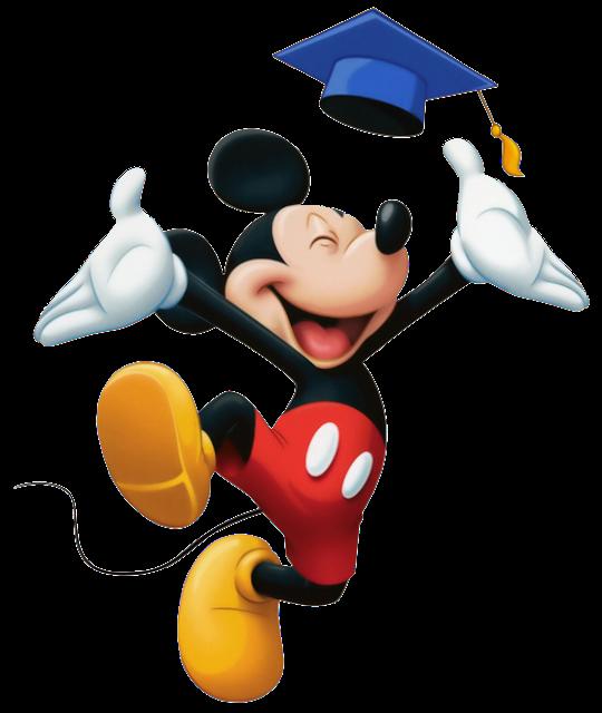 Mouse minnie ceremony clip. Graduation clipart mickey
