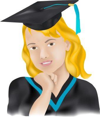Graduation clipart portrait. Eto p grad clip