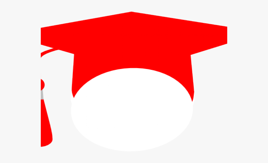 Graduation clipart red. Free cliparts on clipartwiki