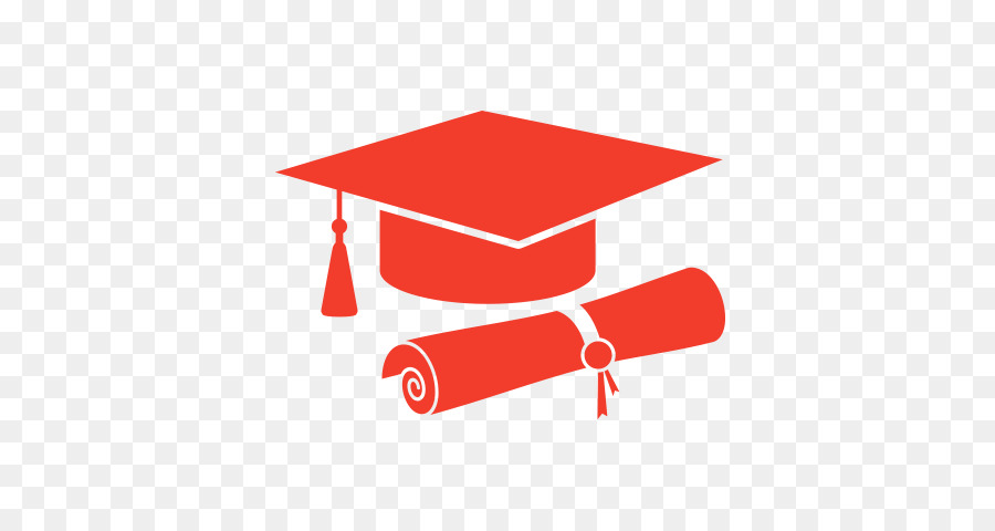 graduation clipart red