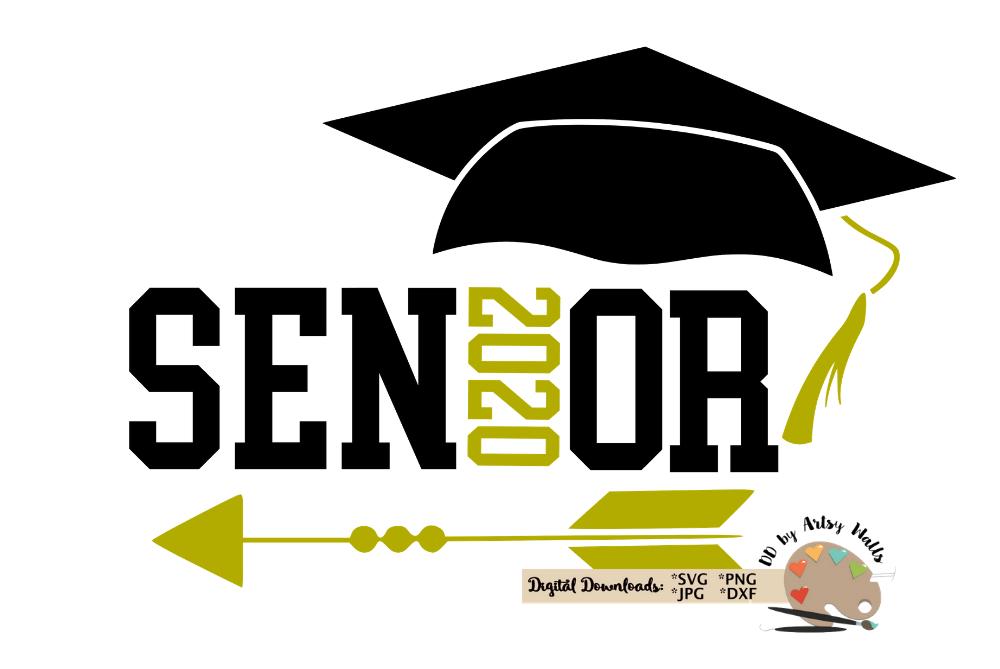 Svg cut file cap. Graduation clipart senior